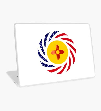 New Mexican Murican Patriot Flag Series Laptop Skin