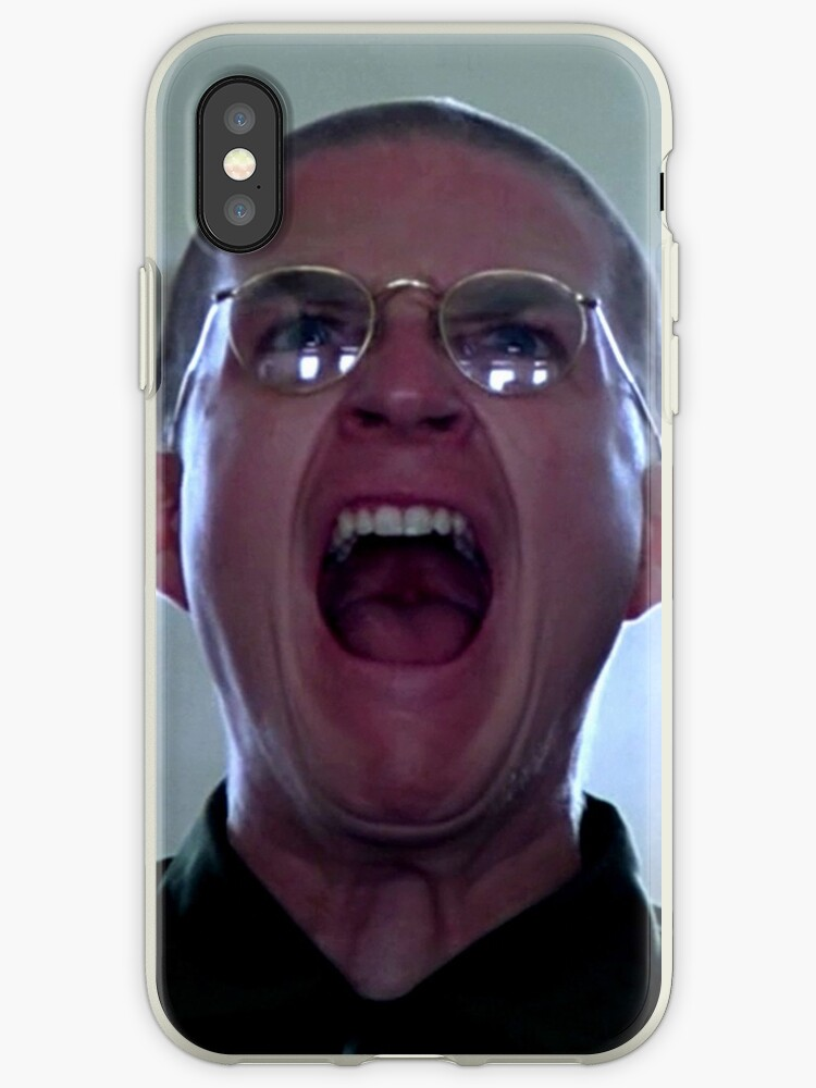 finest selection bd038 6fe35 'War Face - Full Metal Jacket' iPhone Case by jimmynails