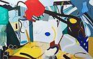 Abstract Interior #6 by Lisa V Robinson