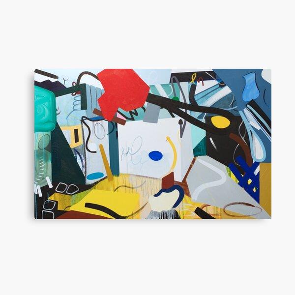 Green Abstract Interior Art Print Canvas Print
