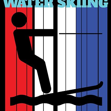 Water Skiing Design - Water Skiing by kudostees