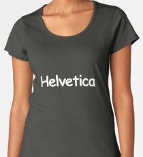 Helvetica Women's Premium T-Shirt