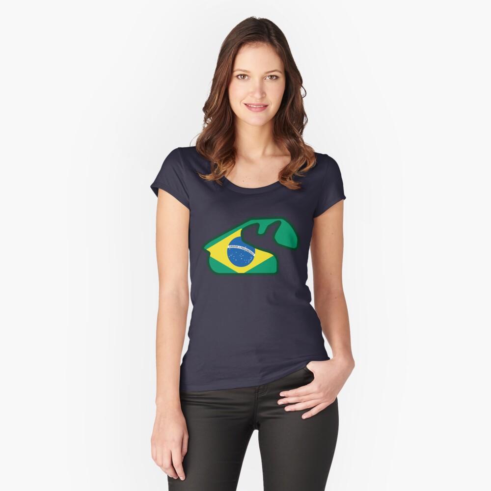 Autódromo José Carlos Pace - Interlagos, Brazil Fitted Scoop T-Shirt