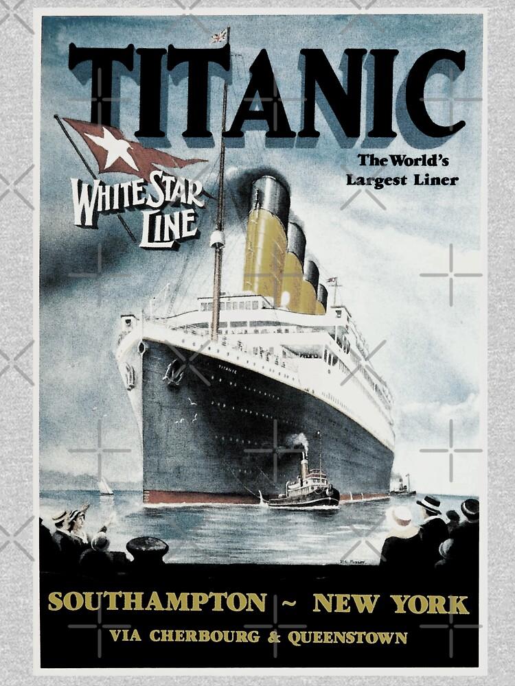 Titanic - Vintage poster by ValentinaHramov