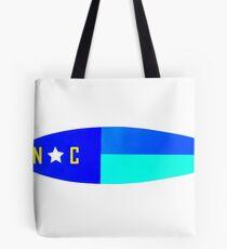 Nautical NC Surfboard Tote Bag
