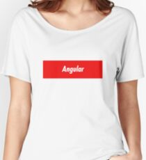 Angular Developer - Programming Stickers and other items! Women's Relaxed Fit T-Shirt