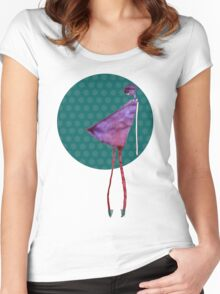 violet diva Women's Fitted Scoop T-Shirt