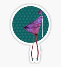 violet diva Sticker