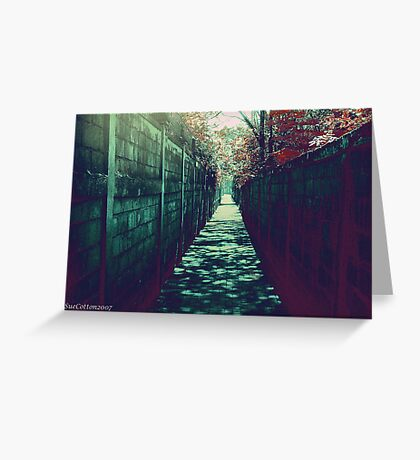 The Alley Greeting Card