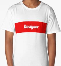 Designer Developer - Programming Stickers and other items! Long T-Shirt