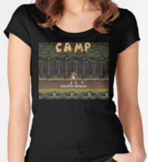 Camp: Bonfire Women's Fitted Scoop T-Shirt