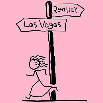 Funny Ladies Las Vegas Signpost Themed Design by EireShirts