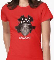 Jean-Michel Basquiat Crown Women's Fitted T-Shirt