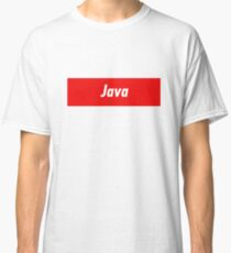 Java Developer - Programming Stickers and other items! Classic T-Shirt