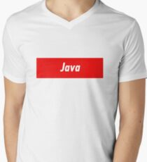 Java Developer - Programming Stickers and other items! Men's V-Neck T-Shirt