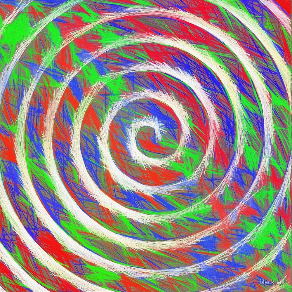 Abstract Spiral by blackhalt