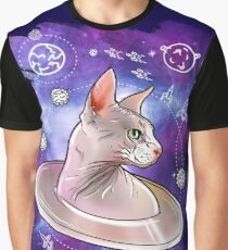 sphynx space cat 2 Graphic T-Shirt