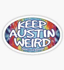 Keep Austin Weird Sticker
