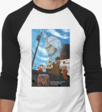 The World Of M Pinup Men's Baseball ¾ T-Shirt