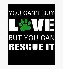 Dog Rescue - I Love My Rescue Dog Photographic Print