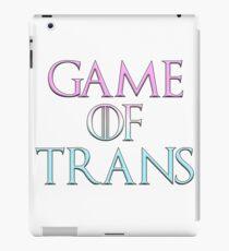 Game of Trans iPad Case/Skin