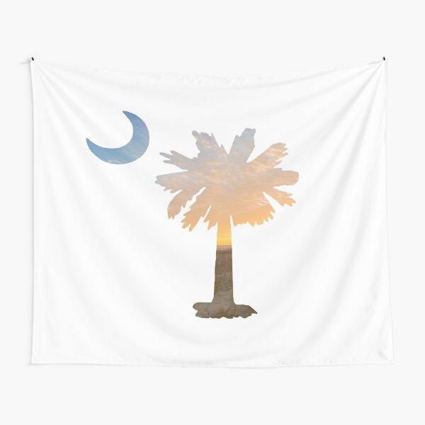 South Carolina Palmetto Moon Tapestry