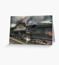 No: 63395 Steam Train Greeting Card