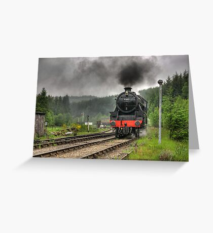 No.45407 'The Lancashire Fusilier' Greeting Card