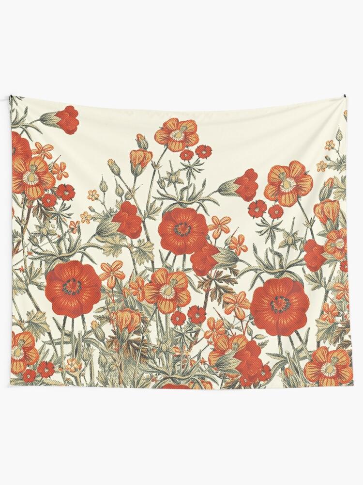 Alternate view of Vintage Garden 7 Tapestry