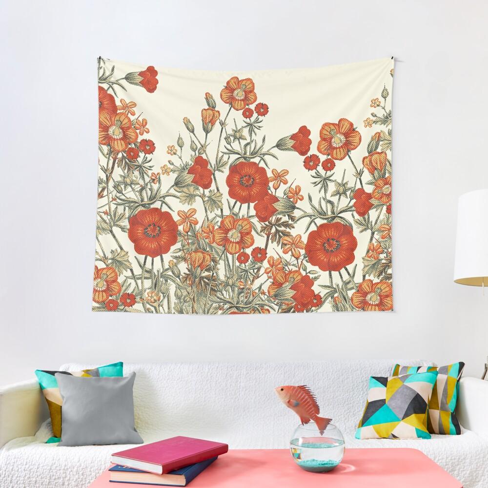 Vintage Garden 7 Tapestry