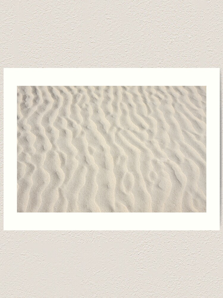 Alternate view of Ripples in the sand Art Print