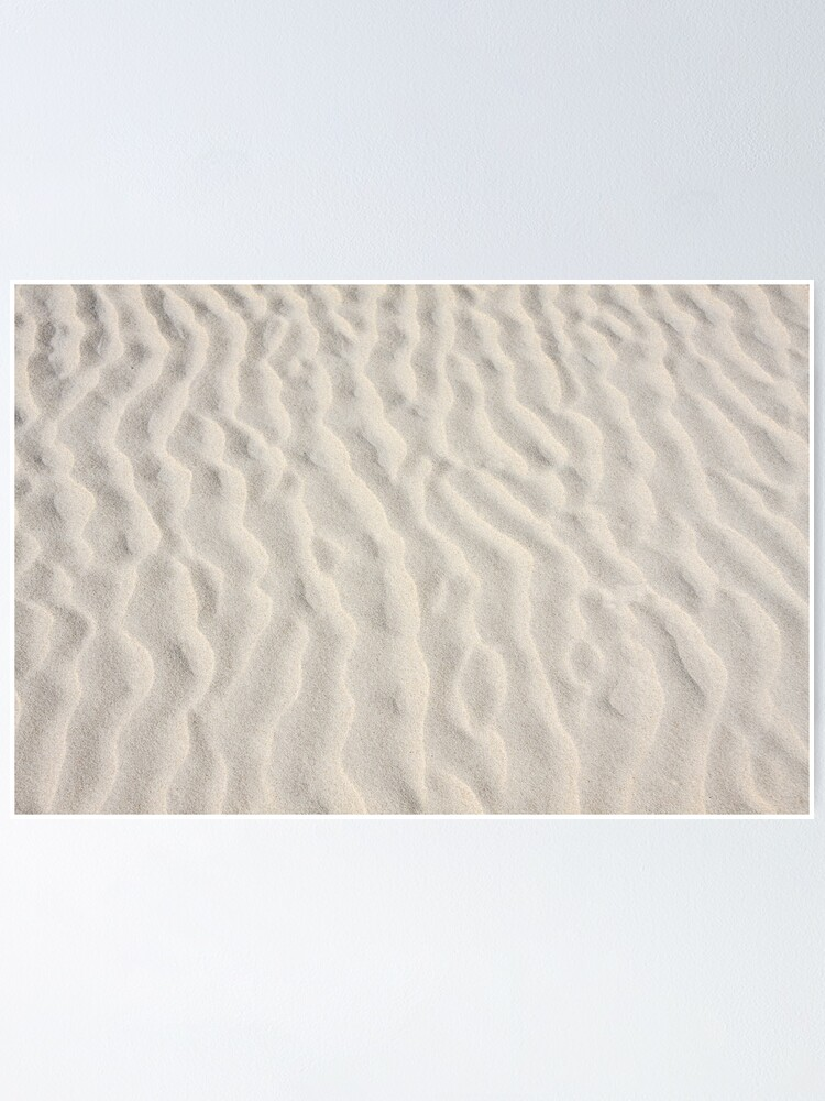 Alternate view of Ripples in the sand Poster