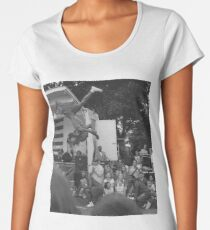 Up and Over Premium Scoop T-Shirt