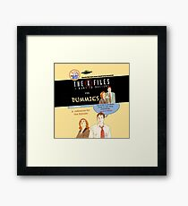 The X Files for dummies by Mimie Framed Print