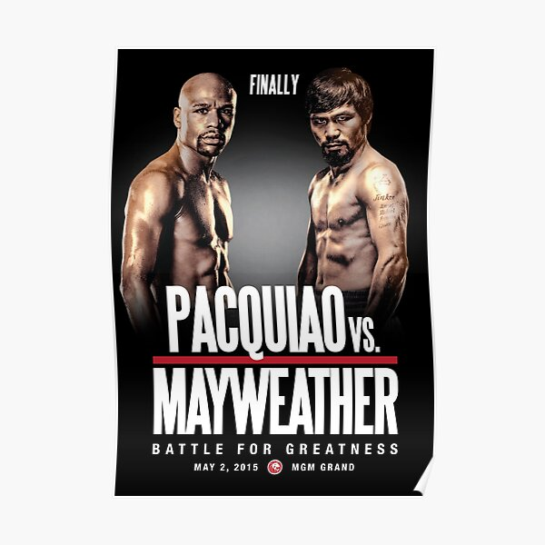 Pacquiao vs Mayweather, Finally Poster