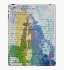 Pink Floyd Der Final Cut & Wish You Were Here-Aquarell iPad-Hülle & Klebefolie