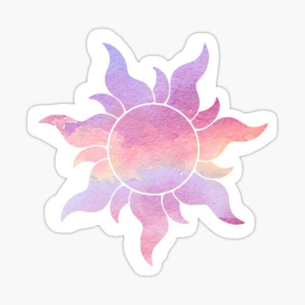 Cloudy Flower Sticker