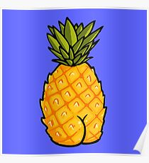 Hot Pineapple Poster