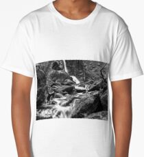 Waterfall Long Exposure Long T-Shirt