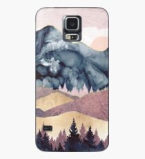 Mauve Vista Case/Skin for Samsung Galaxy