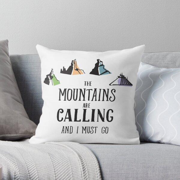 The Magic Mountains Throw Pillow