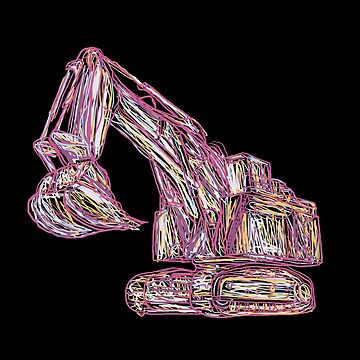 Excavator Abstract by damnoverload