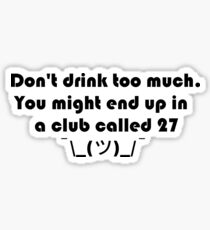 Club27 Sticker