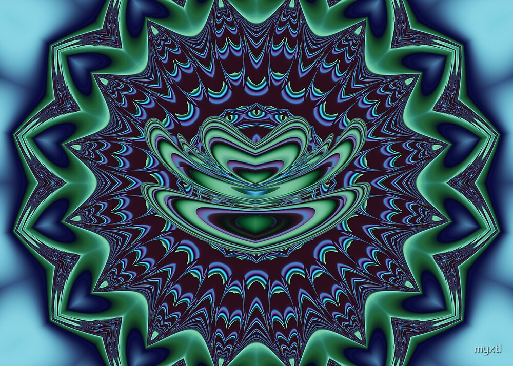 Zazen on Plum Mat  by myxtl