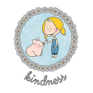 KINDNESS by wiboandbear