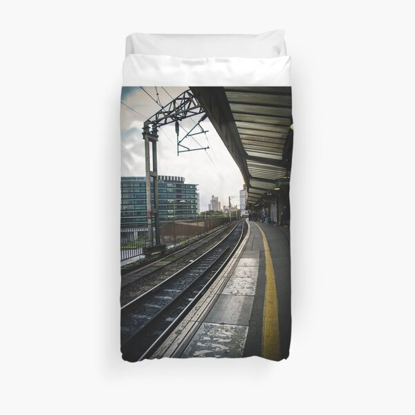 Manchester Piccadilly Train station  Duvet Cover