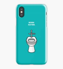 Born Hater - Toilet iPhone Case