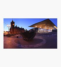 The Senedd, Cardiff Bay Photographic Print