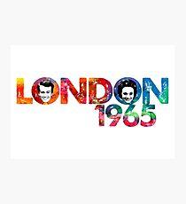LONDON 1965 (Version 2) Photographic Print