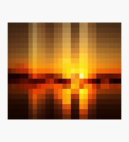 Nature Pixels No 19  Photographic Print